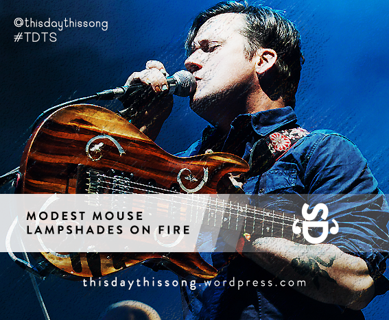 03/01/2015 @ Modest Mouse – Lampshades On Fire