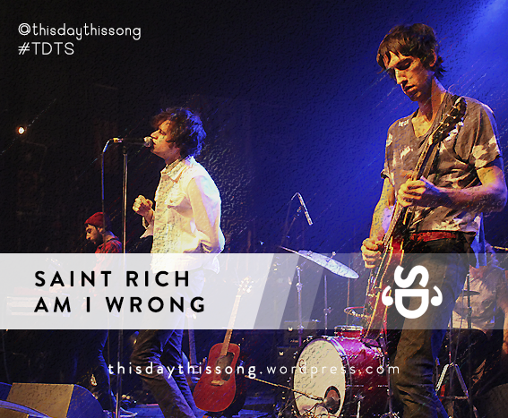 02/22/2015 @ Saint Rich – Am I Wrong