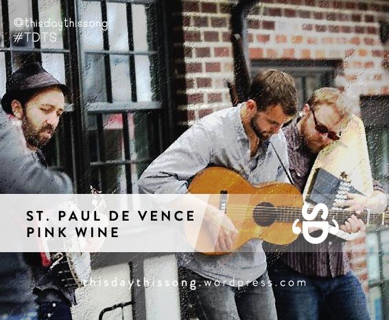 03/18/2015 @ St. Paul De Vence – Pink Wine