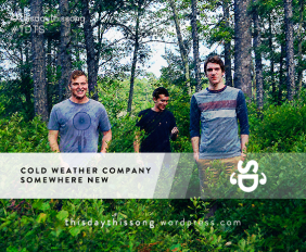 Cold Weather Company - Somewhere New