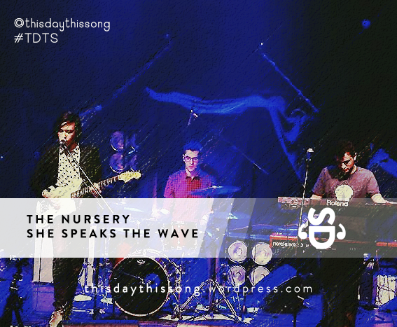 04/24/2015 @ The Nursery – She Speaks The Wave