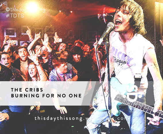 06/29/2015 @ The Cribs – Burning for No One