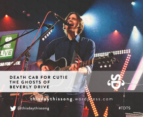 DEATH CAB FOR CUTIE THE GHOSTS OF BEVERLY DRIVE