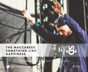 THE MACCABEES SOMETHING LIKE HAPPINESS