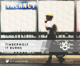 TIMBERWOLF IT BURNS
