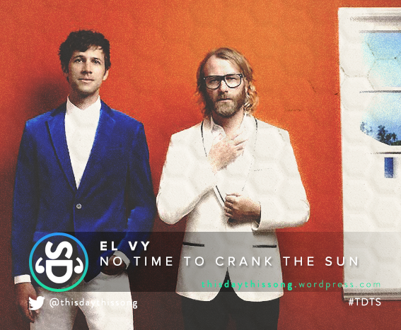 11/15/2015 @ EL VY – No Time to Crank the Sun