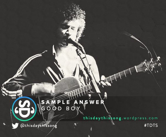 12/01/2015 @ Sample Answer – Good Boy